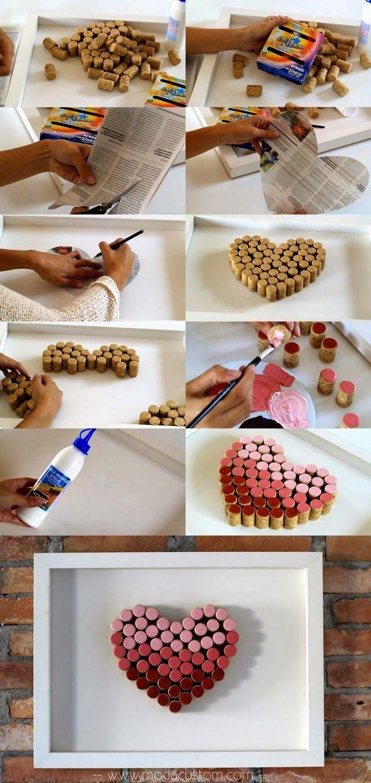 Reutilize suas rolhas de vinho (stoppers) e faça um mural, DIY. Blog Estúdio Mixi, por Vanessa Maekawa.
