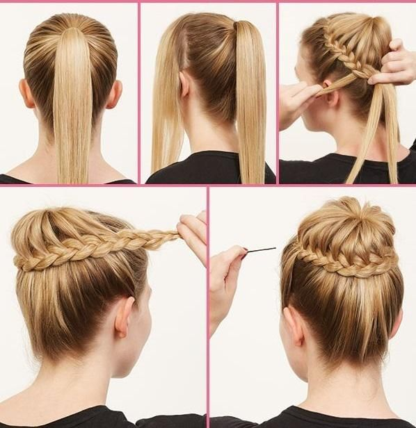 Fashionable Hairstyle Tutorials for Long Thick Hair6 See more http://ift.tt/18eKBnm