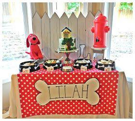 Bella C Parties: Clifford Birthday Party