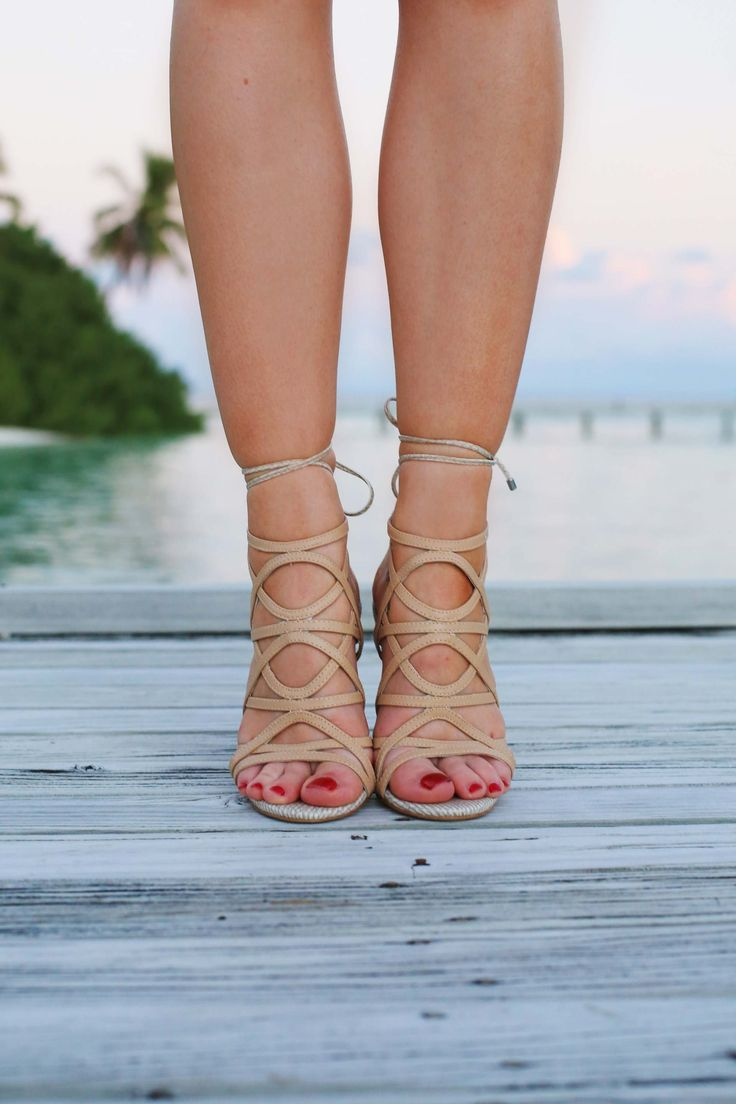 The perfect summer evening heels from Topshop!