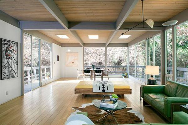 Hollywood Hills Mid Century Modern Post Beam Sunset Strip Real