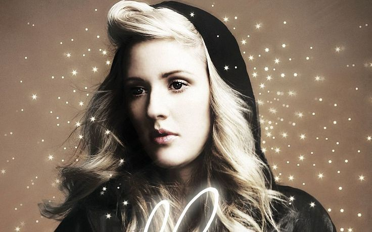 ellie goulding lights album cover Wallpaper HD Wallpaper