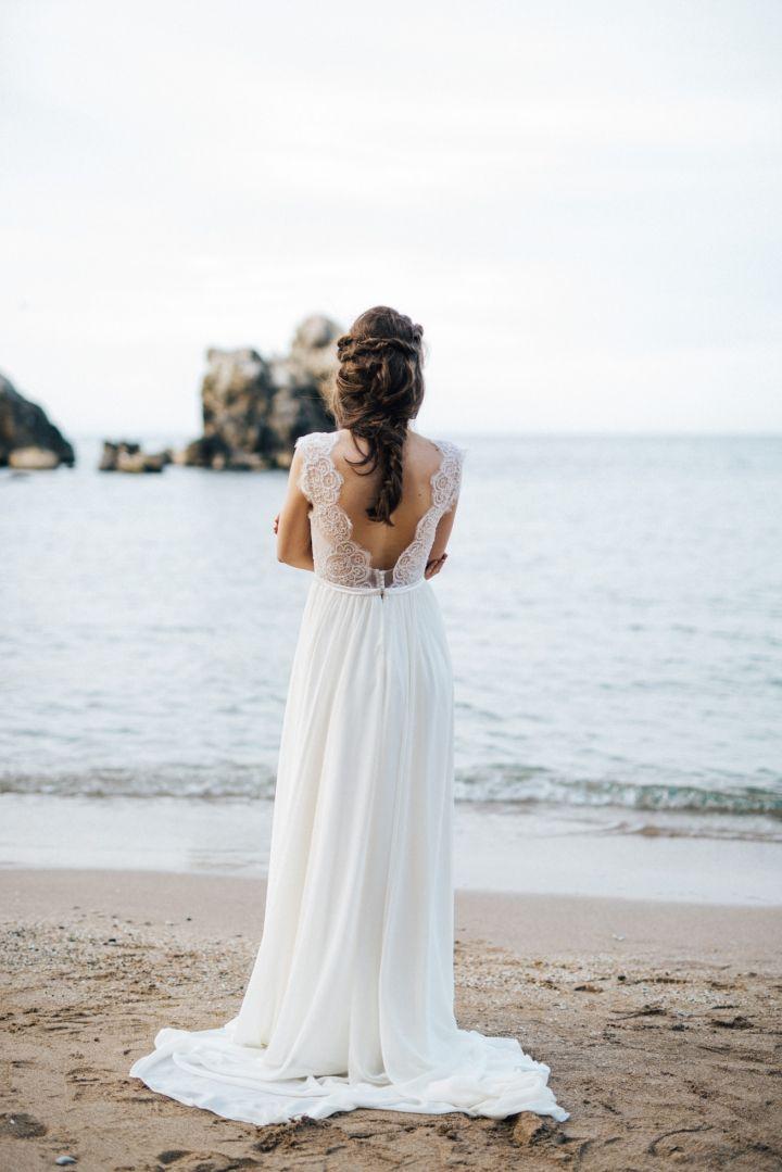 The 42 best Inspiration: Strand Braut images on Pinterest | Boho ...