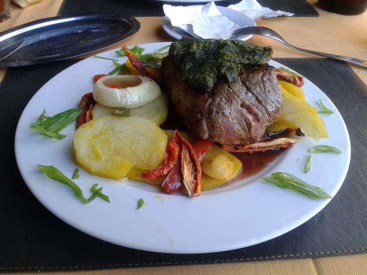 Bife de chorizo. Restaurante Color em Puerto Iguazu - Missiones - Argentina
