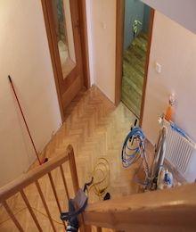 Renovace schodu