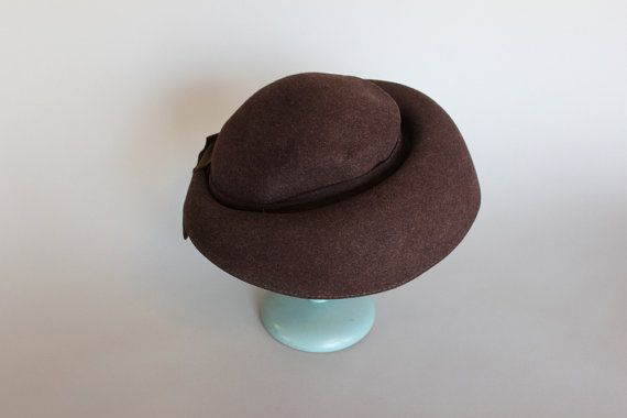 1940s hat / vintage WW2 New York Creations Hat / by HolliePoint, $52.00