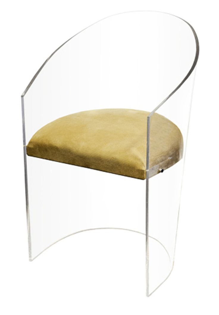 Aura float chair furniture seating upholstery fabric acrylic