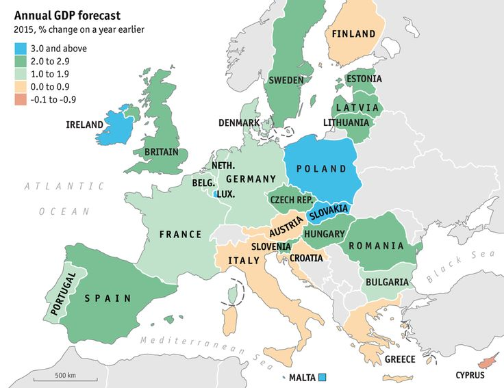 The euro-zone recovery lost speed. Visit our interactive overview of GDP and jobs by country http://econ.st/1EAqvOs