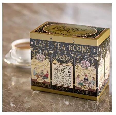 - イギリス雑貨と紅茶とハーブティーのお店 English Specialities ベティーズティールームブレンド80ティーバッグ(紙パッケージ入り)