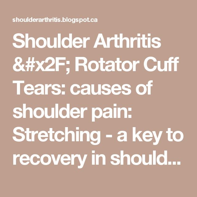 an introduction to the rotator cuff disease Shoulder pain can be caused by many conditions, including rotator cuff tears,   introduction  most rotator cuff tendon tears occur in the supraspinatus and  infraspinatus muscles, and may occur in an acute or chronic setting.