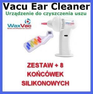 13bd)VACU EAR CLEANER URZĄDZENIE DO CZYSZCZENIA USZU