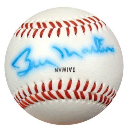Billy Martin Autographed New York Yankees Logo Baseball New York Yankees PSA/DNA | eBay