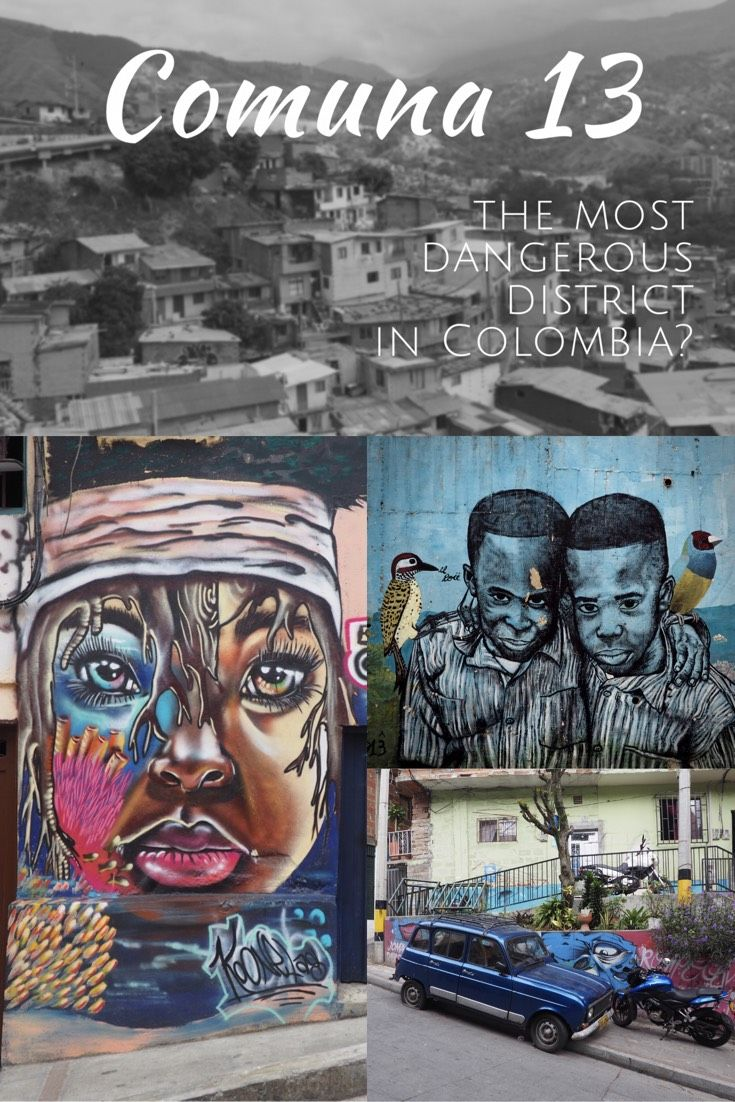 Comuna 13 - the most dangerous neighborhood in Medellin?