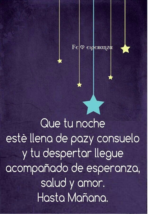 ★ Buenas Noches. ★