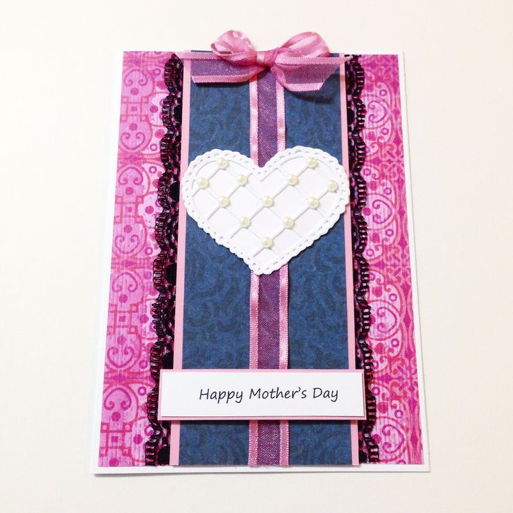 Mother's Day Card titled 'With Love'! Made by Pammypumpkin