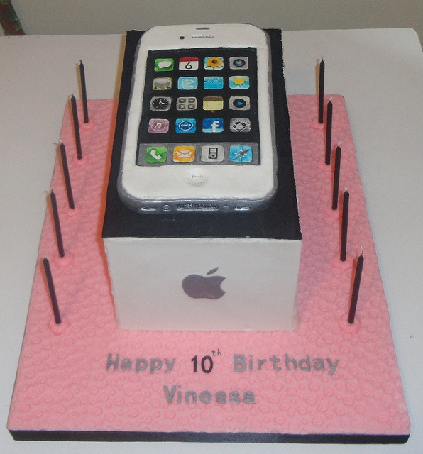 32 best iphone cake images on Pinterest Iphone cake Anniversary