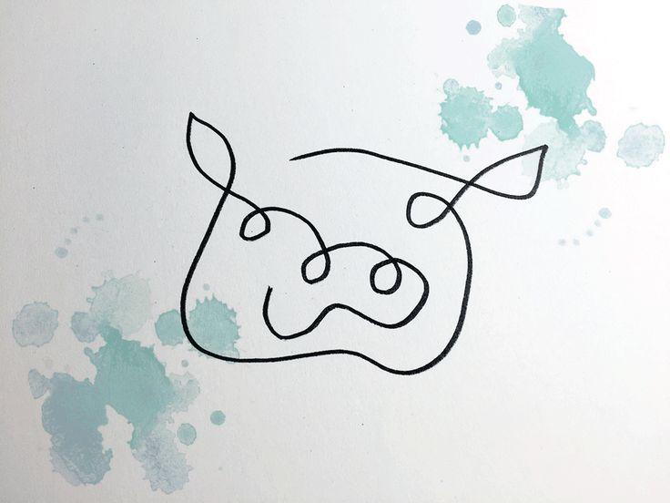 KuneCoco • Das Schwein mit einem Strich                              …