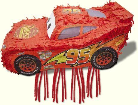 Disney CARS Lightning McQueen Pinata - Kids Party Pinatas Party ...