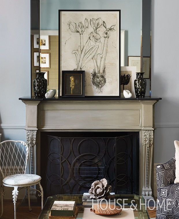 20 Fireplace Mantel Styling Ideas With Serious Flair Living Life