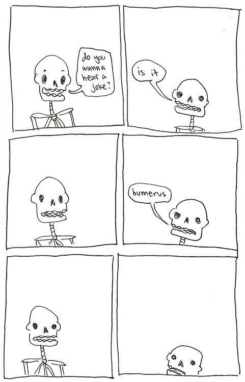 Skeleton joke…