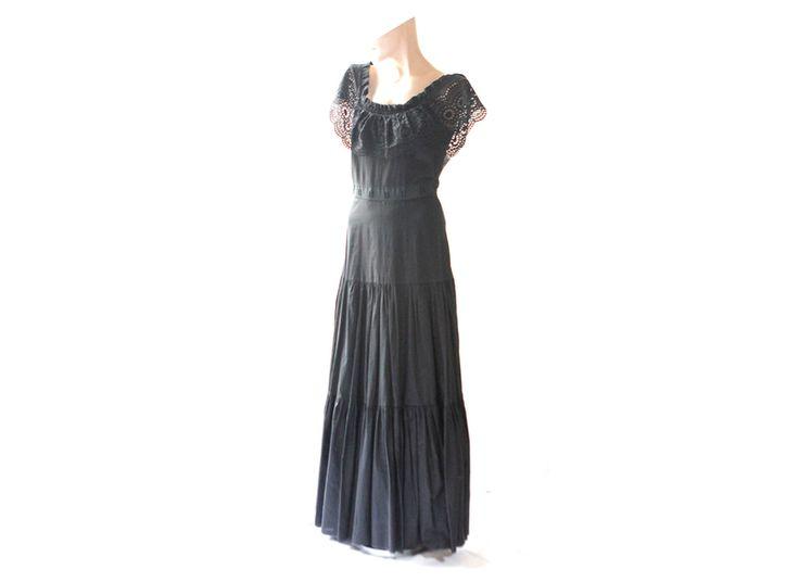 Original 70er Vintage Kleid Gr. 36 Vera Mont von Avantgarde-Plus auf DaWanda.com