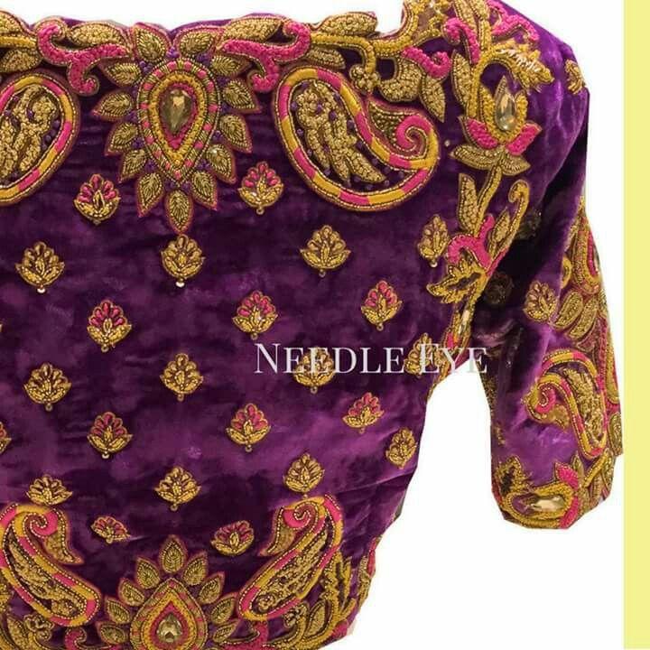 Best saree blouses images on pinterest september