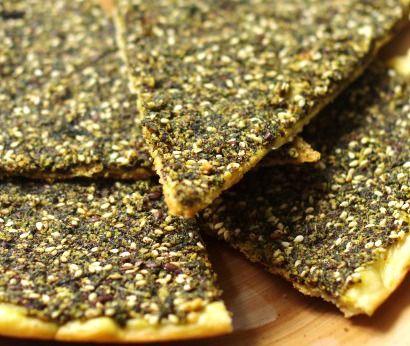 manaich ou manouche (galette libanaise)