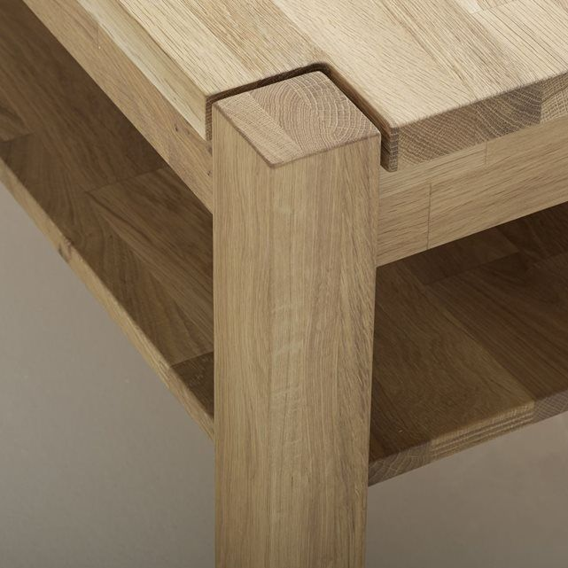 1000 ideas about table basse chene on pinterest chene - Table basse chene huile ...