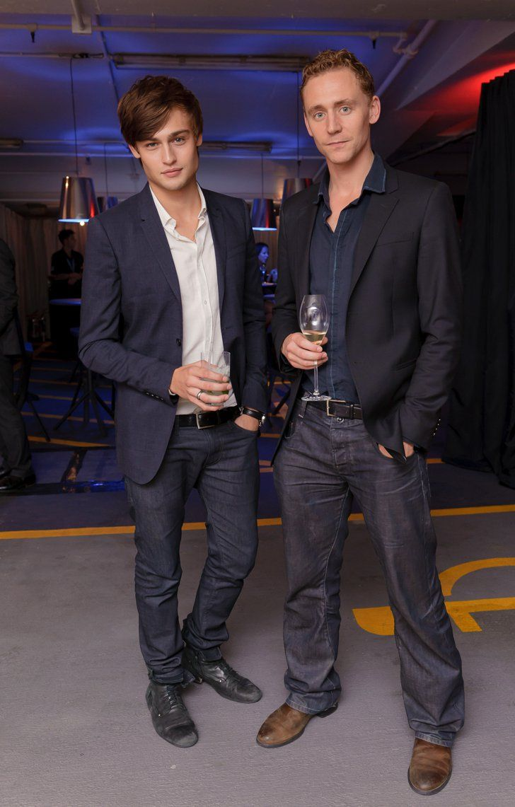 Pin for Later: 25 Pictures of Hot British Actors Being Hot Together  Douglas and Tom matched up at a London fashion event in September 2010.