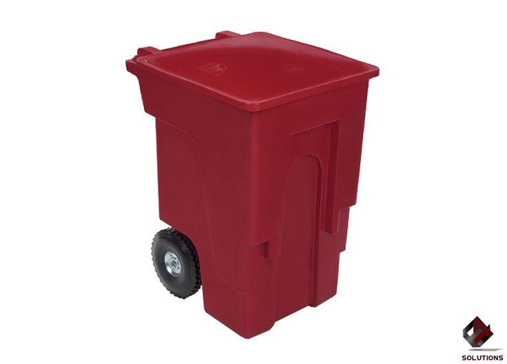 E4-4069 CONTENEDOR DE BASURA VIFEL-360  Contenedor diseñado para la recolección de desperdicios orgánicos e inorgánicos. Contenedor compuesto en dos piezas son fabricados por el sistema de inyección, el material utilizado es polietileno de alta densidad, son altamente resistentes a las condiciones del clima. Dimensiones: 69 cm. x 82 cm. x 109 cm. Capacidad: 360 Lts. Peso: 22 kg. Colores: Gran variedad de colores pregúntenos por ellos.