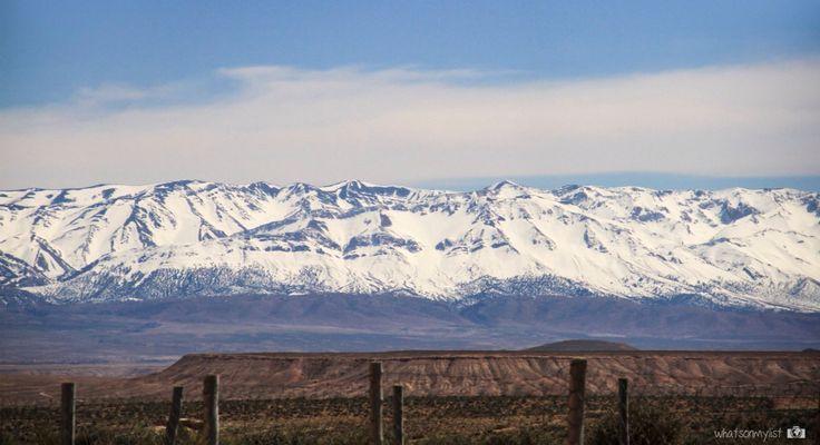 The Atlas Mountains, Morocco. Would you like to be there? :)  La Cordillera del Atlas, Marruecos. ¿No te gustaría estar ahí? :)