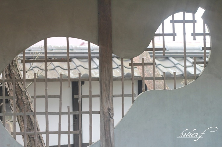 Gourd shaped windows  of warehouse