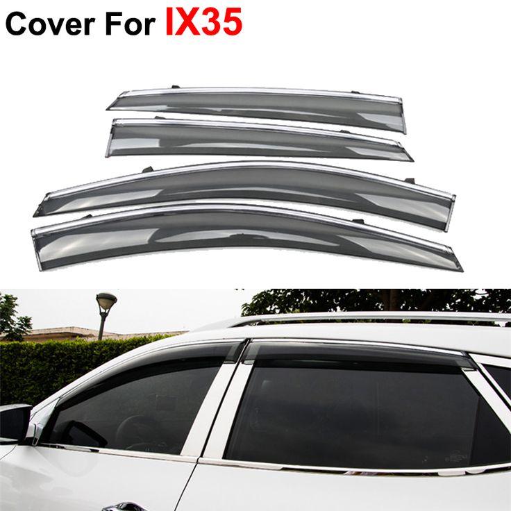 4 шт./лот оконные козырьки для Hyundai IX35 IX-35 2012 2013 2014 2015 вс дождь наклейки щит автотентами стиль маркизы приюты