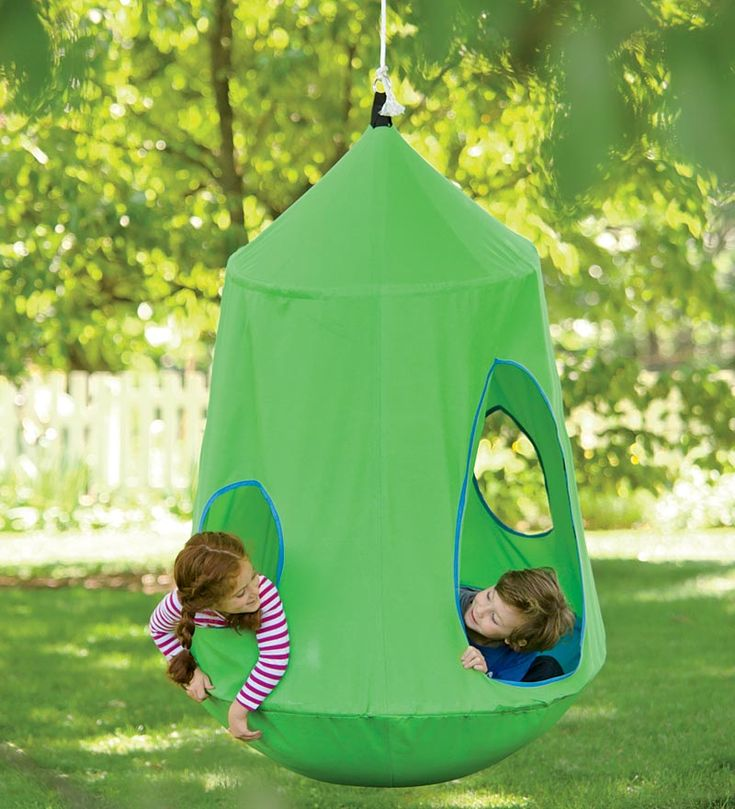 HugglePod™ HangOut Indoor/Outdoor Hanging Chair - comes with built in lights, so cool.