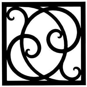 Wrought Iron Art Decor