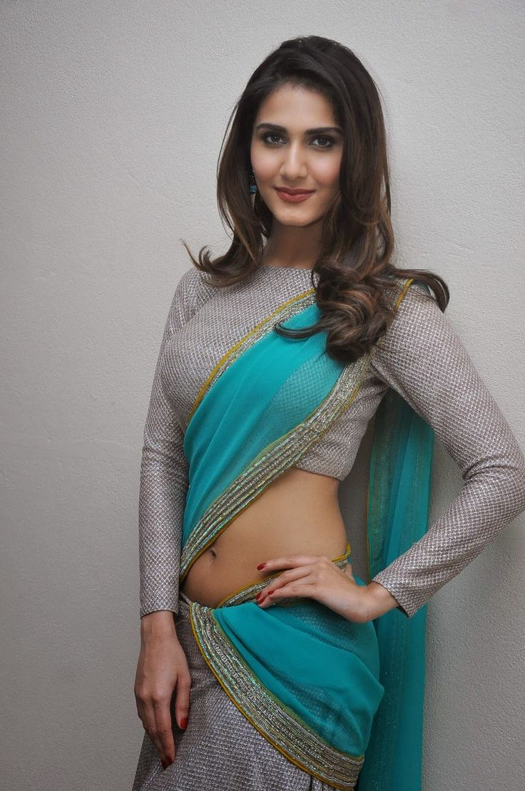 Actress Vaani Kapoor in Saree