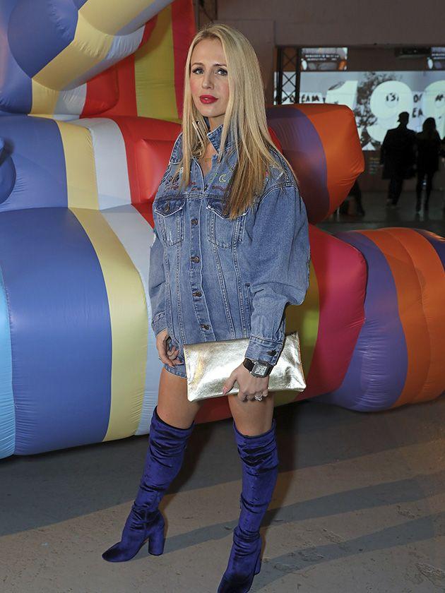 Naomi Isted, Evening Standard columnist, Ultimate Lifestylist at London Fashion Week - www.brixbailey.com