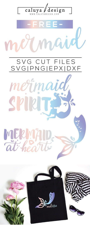 Free Mermaid Svg File : mermaid, Crafts