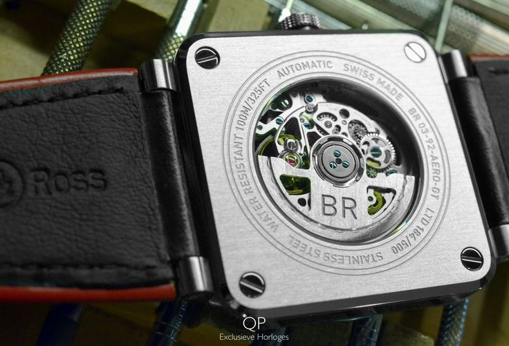 For this weekend, we though it was nice to post a close-up shot of the beautiful #BR-CAL.318 automatic #movement from the #BellRoss #BR03-92 #AeroGT!  The AeroGT is the classic BR 03-92 in its simplest form; it shows #time! Just the hours, minutes and seconds! Nothing more, nothing less; this means that the movement is fairly straight forward as well. #Bell & #Ross, however, have done an excellent job into making sure the automatic movement is simply beautiful and can be seen from both…