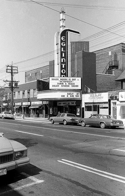 The Eglinton Theatre, Toronto.