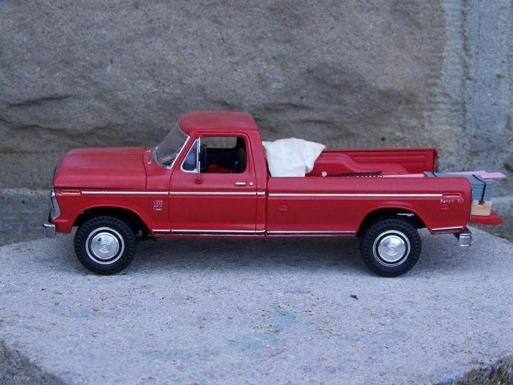 Ford Truck Models Trucks Kit Cars Car Kits Model Metal Dioramas Hobbies