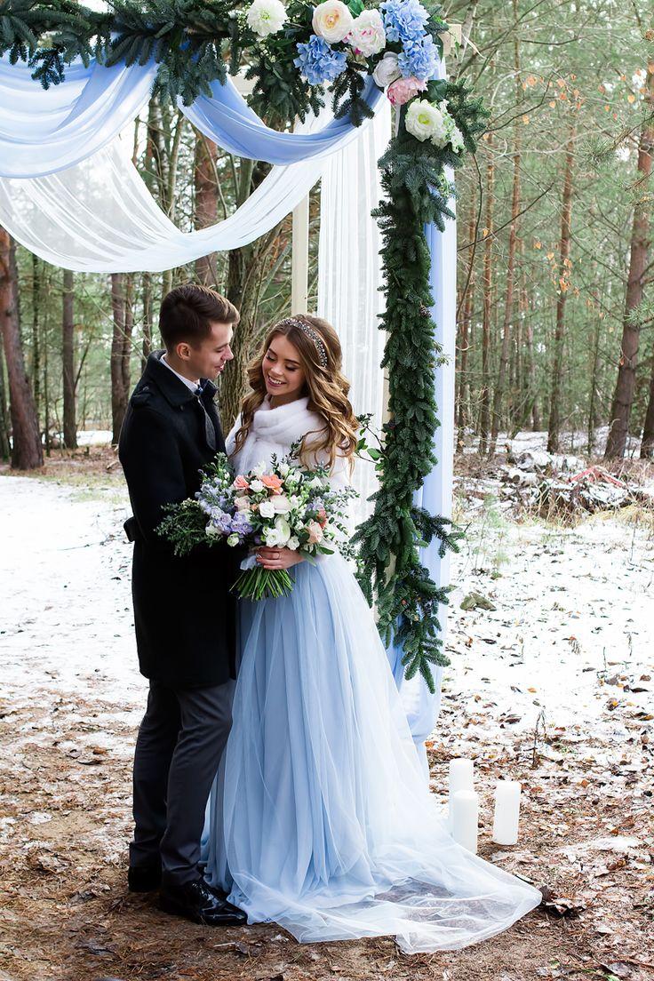 Light blue wedding decoration ideas   best Inspiração casamento images on Pinterest  Wedding color