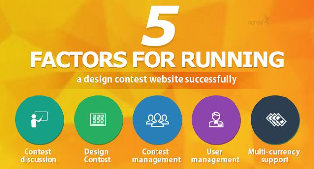 Five factors for running a #designcontest website successfully  Check out: http://www.clonescripts.co/2015/10/five-factors-for-running-design-contest-website.html