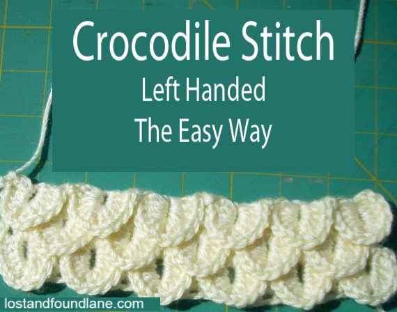 1000+ images about Crochet - left handed on Pinterest