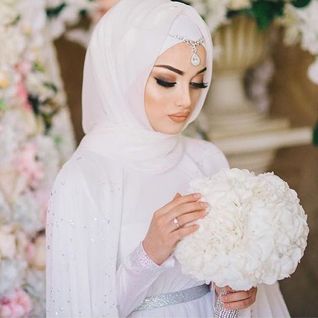 Muslim Wedding Dresses Houston : Wedding dresses on hijab bride and muslim