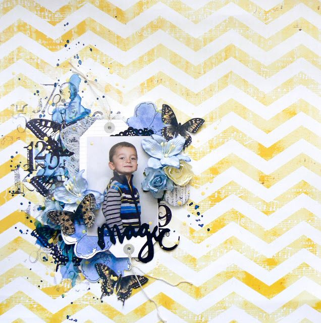 13arts: Magic- Layout from GD Valerie Ouellet