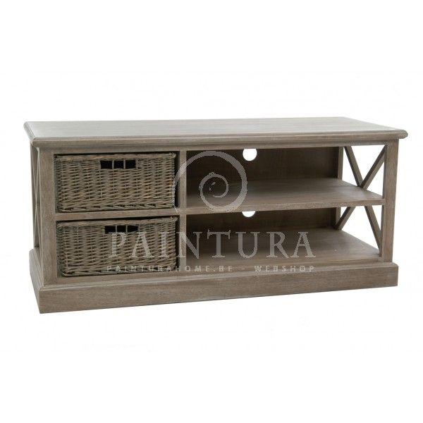 Landelijke stijl Tv meubelen - TV kasten ea landelijke meubelen J-line online kopen #paintura #home #tv #kasten #meubels #landelijke