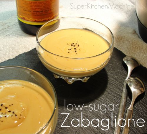 Easy lower-sugar Zabaglione (Sabayon) - Thermomix Super Kitchen Machine  