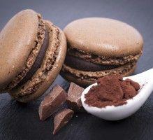 Recette - Macarons lisses chocolat - Proposée par 750 grammes