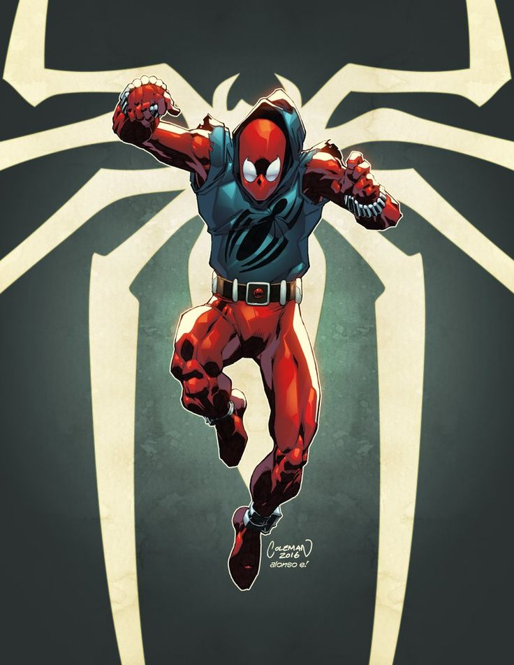 Scarlet Spider by AlonsoEspinoza on DeviantArt
